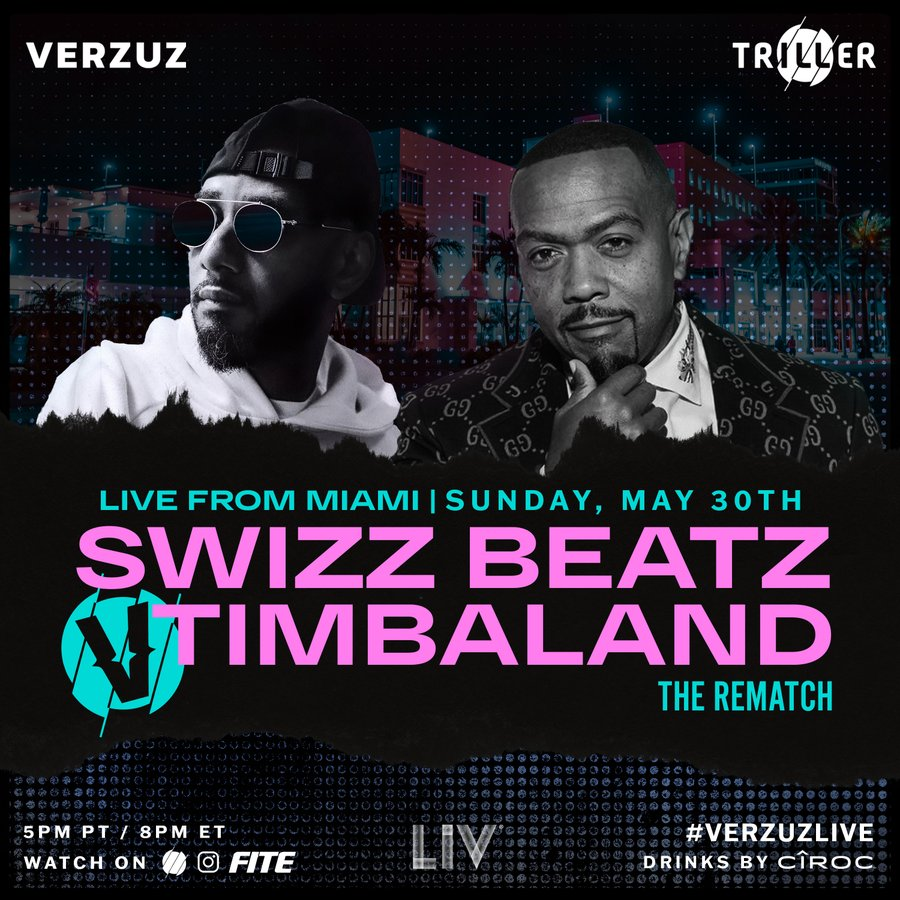 Swizz Beatz and Timbaland Set for VERZUZ Rematch This Weekend