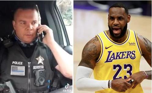 [WATCH] Idaho Cop Mocks LeBron James' Ma'Khia Bryant Tweet On TikTok And Gets $200K In Donations