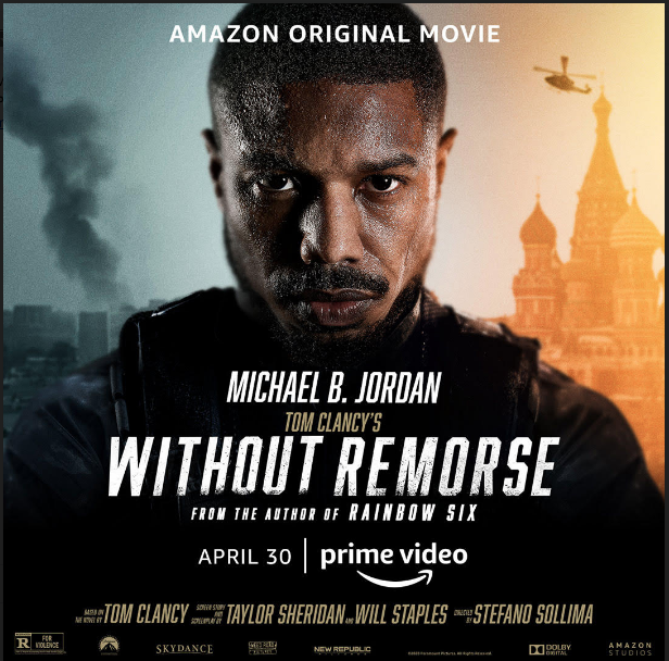 [WATCH] Michael B. Jordan Drops Drones For 'Without Remorse' Premiere