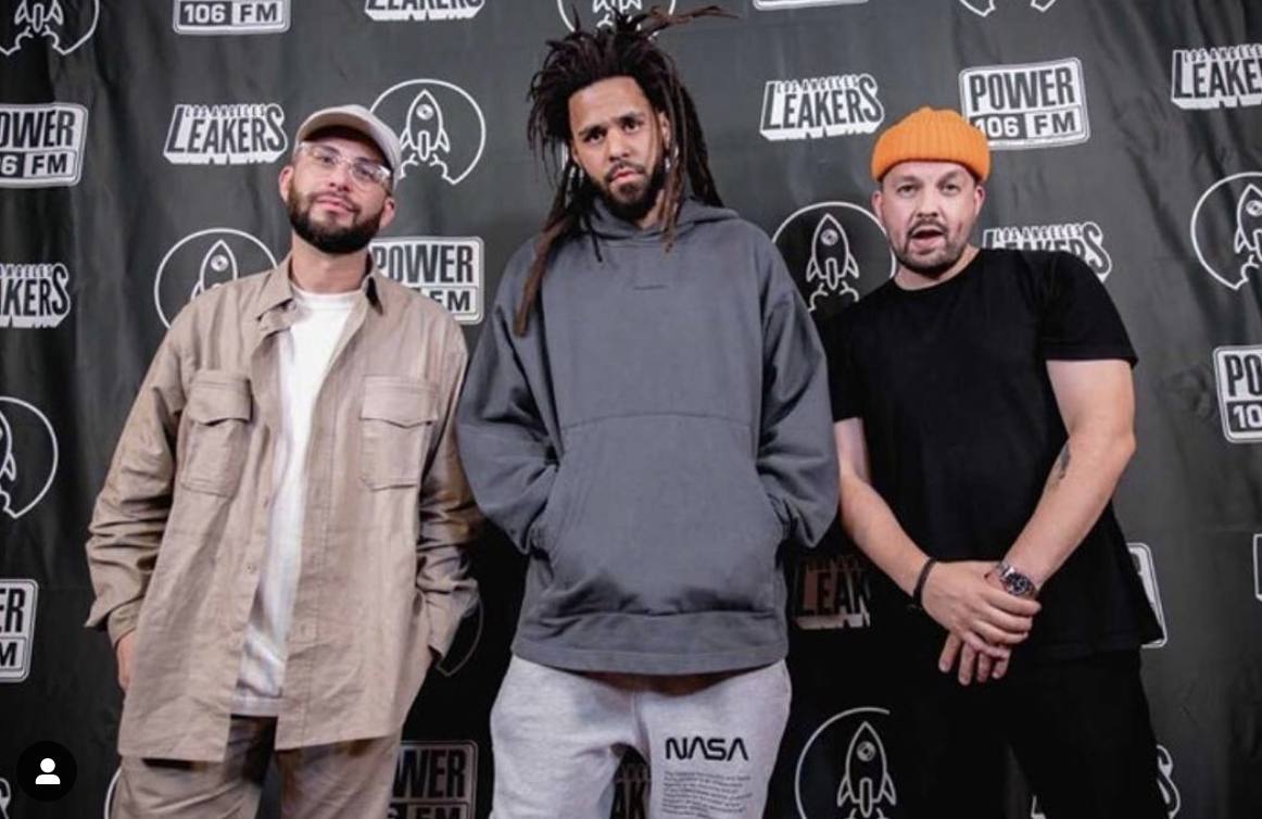Watch: J Cole Freestyles For LA Leakers Ahead of Album Release