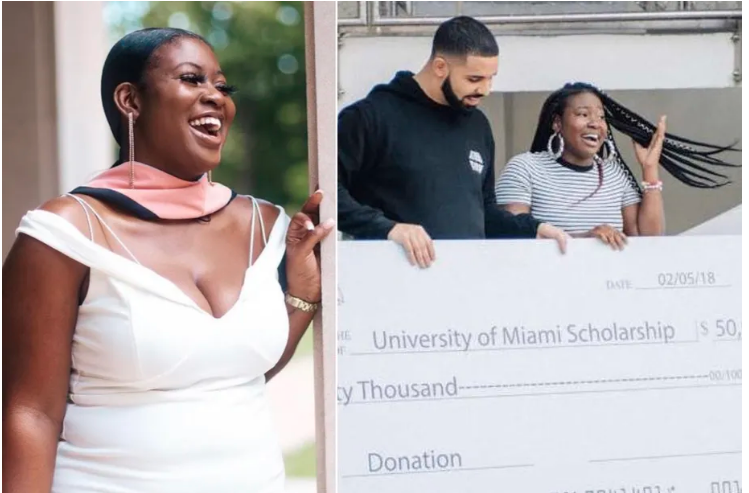 "Woman Who Received $50K Scholarship In Drake's ""God's Plan"" Video Will Graduate With Master's Degree"