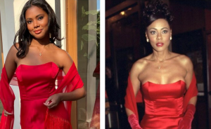 Lela Rochon's Daughter Attends Prom in Dress Mom Wore To 'Waiting To Exhale' Premiere