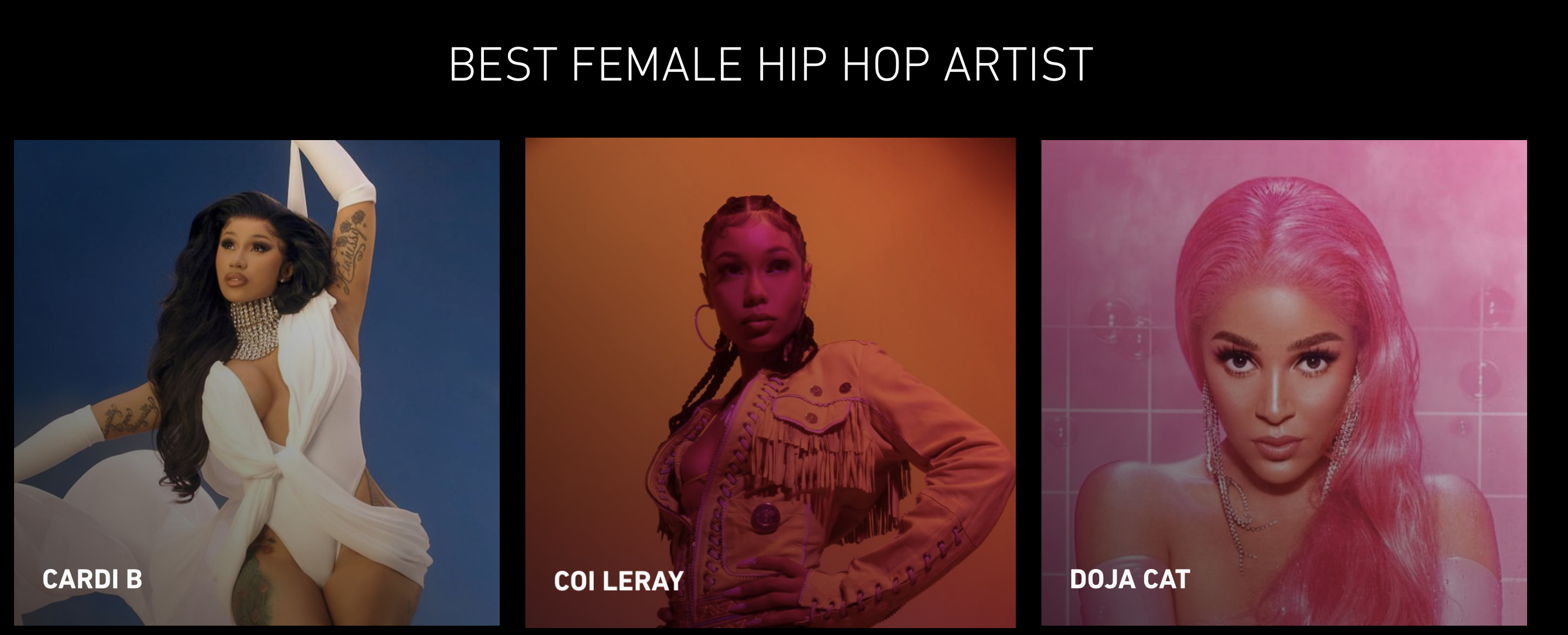 Twitter Reacts to BET Awards Best Female Hip-Hop Artist Nominees
