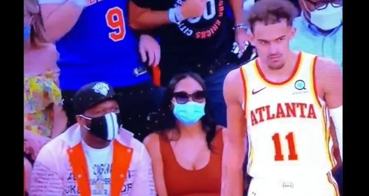 Knicks Ban Fan from Madison Square Garden After He Spit on Trae Young