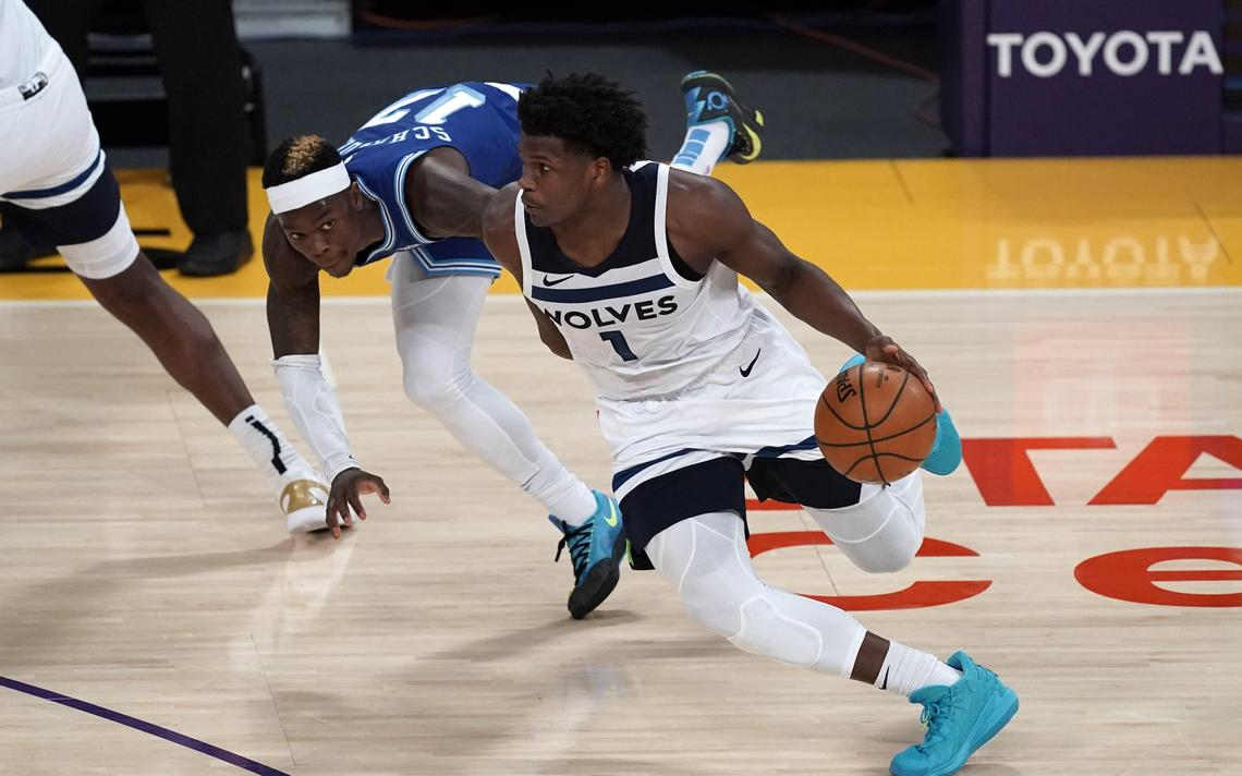 Timberwolves' Anthony Edwards thinks he should have won the NBA Rookie of the Year award