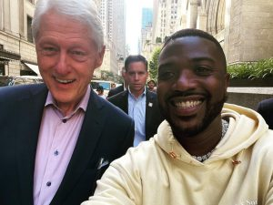 Ray J is Trying to Get Bill Clinton New Headphones
