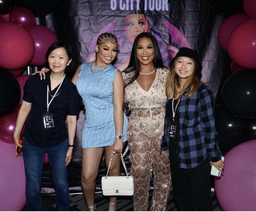 Latto, Tiny Harris & More Seek Make-Up Tips & Tricks From Beauty Expert Olivia Song