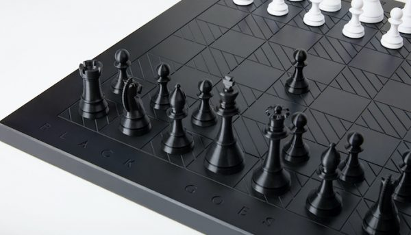 Black Goes First Chessboard