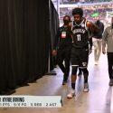 Kyrie Irving Injured During Bucks-Nets Game 4