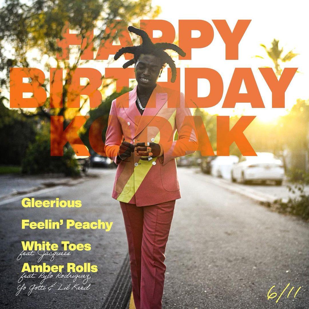 Kodak Black Releases New 'Happy Birthday Kodak' EP
