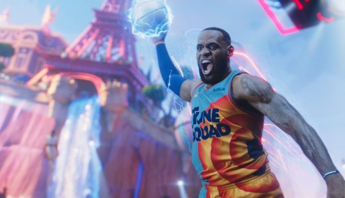 LeBron James in the trailer for Space Jam A New Legacy 1 696x442 1