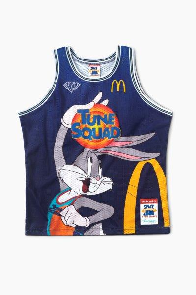 McDonalds x Diamond Supply Co x Space Jam A New Legacy Collection Bugs Bunny Basketball Jersey