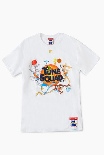 McDonalds x Diamond Supply Co x Space Jam A New Legacy Collection T shirt