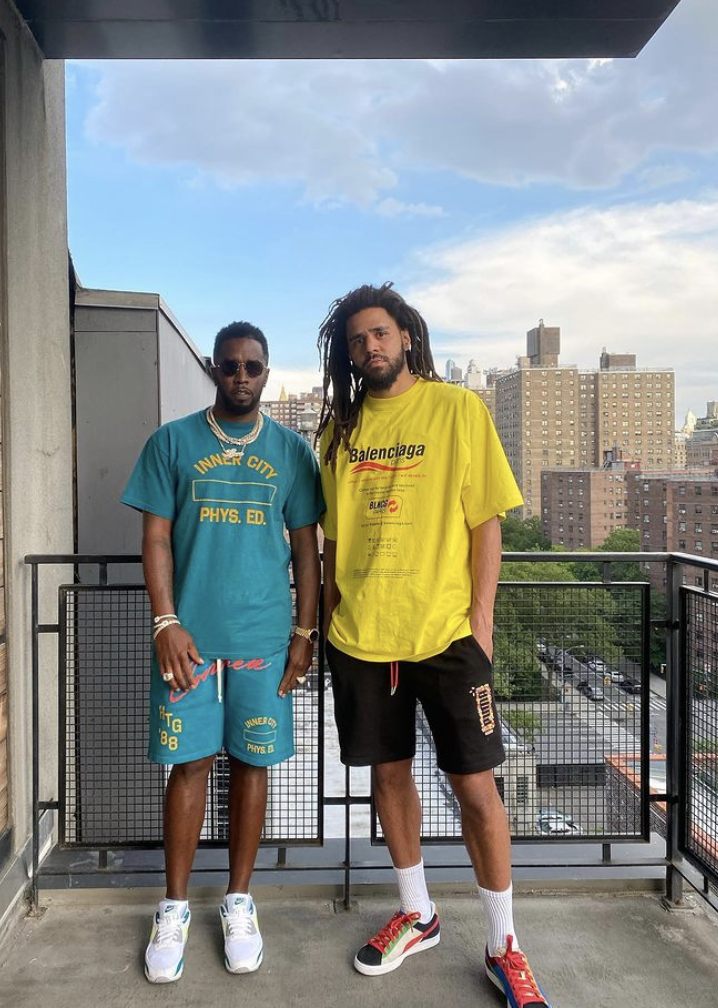 """J. Cole & Diddy Troll Fans With """"Fight"""" Video"""