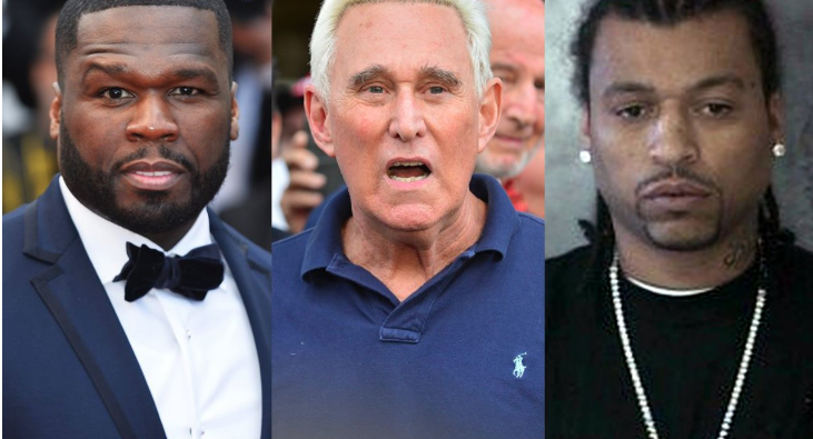 """50 Cent Responds to Roger Stone's Allegation Of """"Ripping Off"""" Big Meech"""