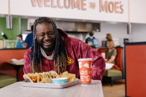 T-Pain Joins Forces With Moe's Southwest Grill For Frank's RedHot® Buffalo Queso Taco