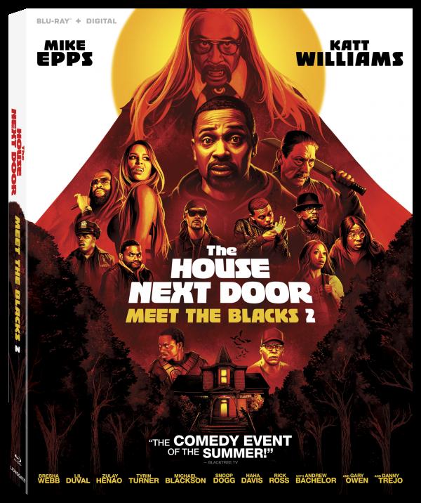 The House Next Door Meet the Blacks 2 dvd cover
