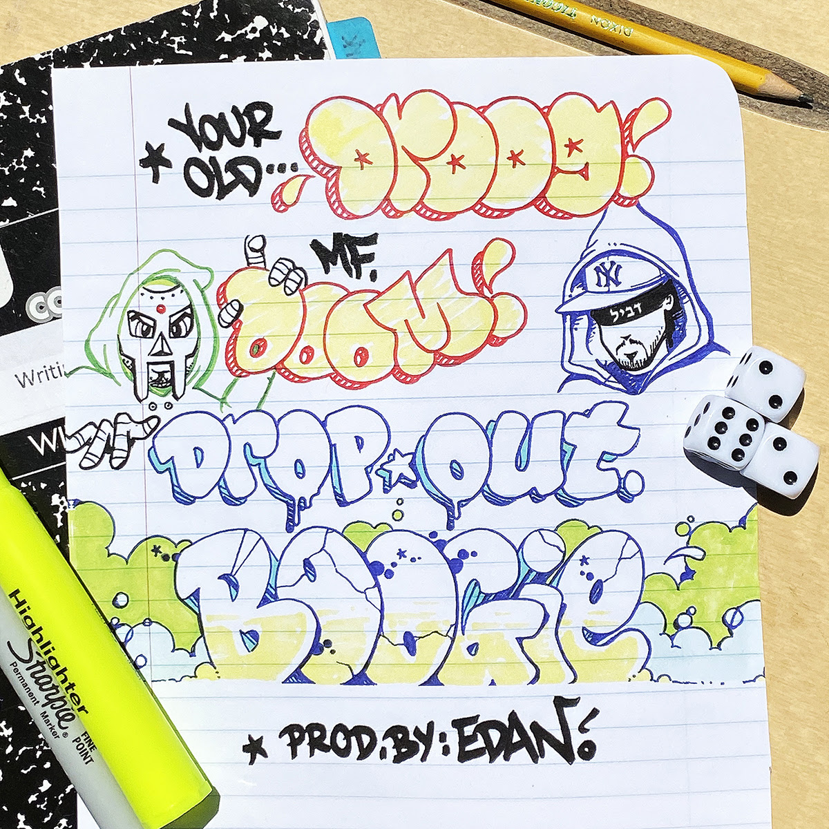 The source |  Your old Droog X MF DOOM track takes us back to hip hop with 'Dropout Boogie'
