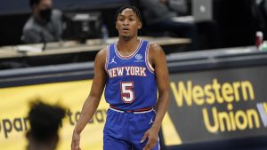 Knicks' Immanuel Quickley Says He Had Beer Thrown At Him At Madison Square Garden