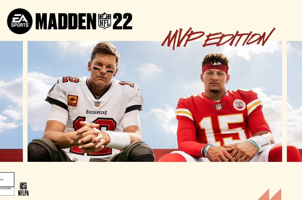 Tom Brady And Patrick Mahomes to Share 'Madden 22' Cover Together