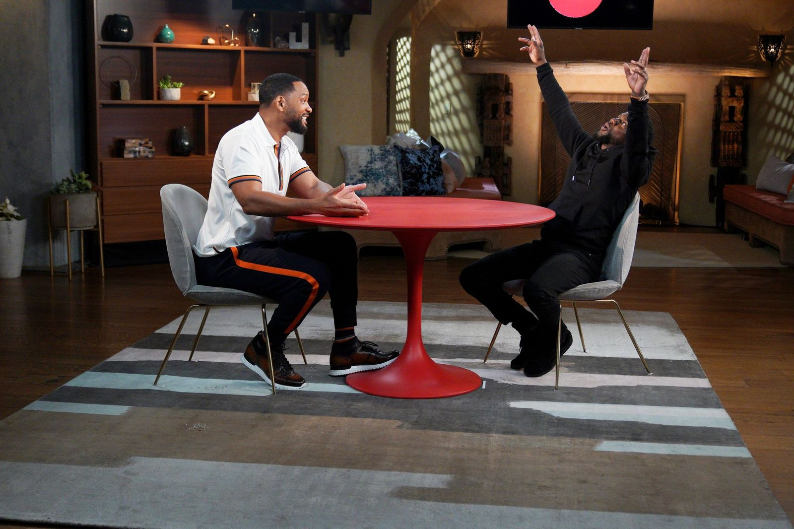 Will Smith and Kevin Hart ready for Father's Day edition of 'Red Table Talk'