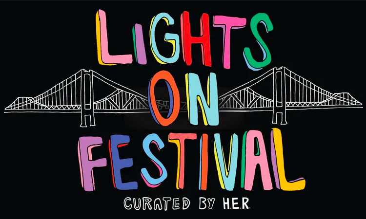 The Source |H.E.R. Hosts Lights On Festival With Chris Brown, Erykah Badu, Chloe Bailey & More