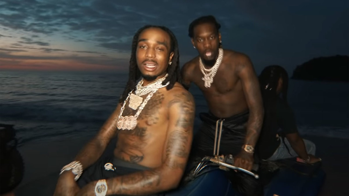 """Migos arrives in Jamaica in a new video """"Why Not"""""""