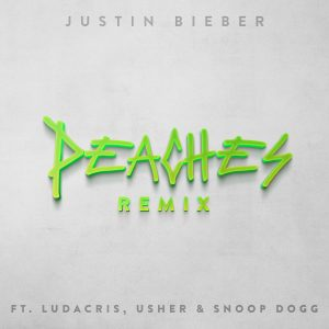 """Snoop Dogg, Usher, and Ludacris Joins Justin Bieber on """"Peaches"""" Single"""