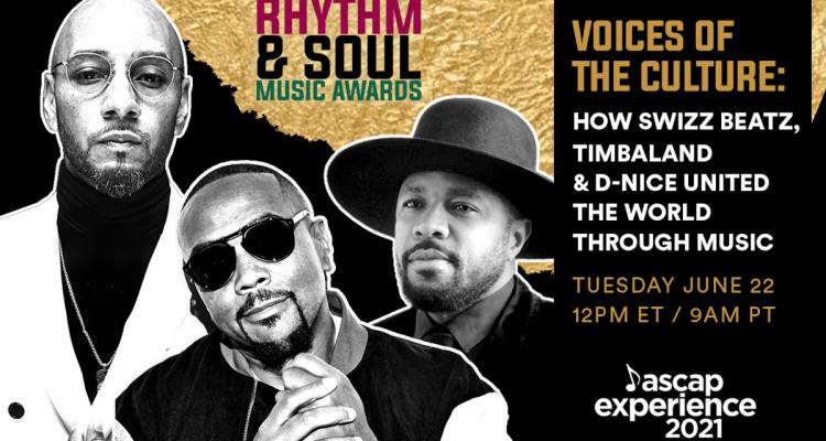Timbaland, Swizz Beatz & D-Nice Receive ASCAP Voice of The Culture Award