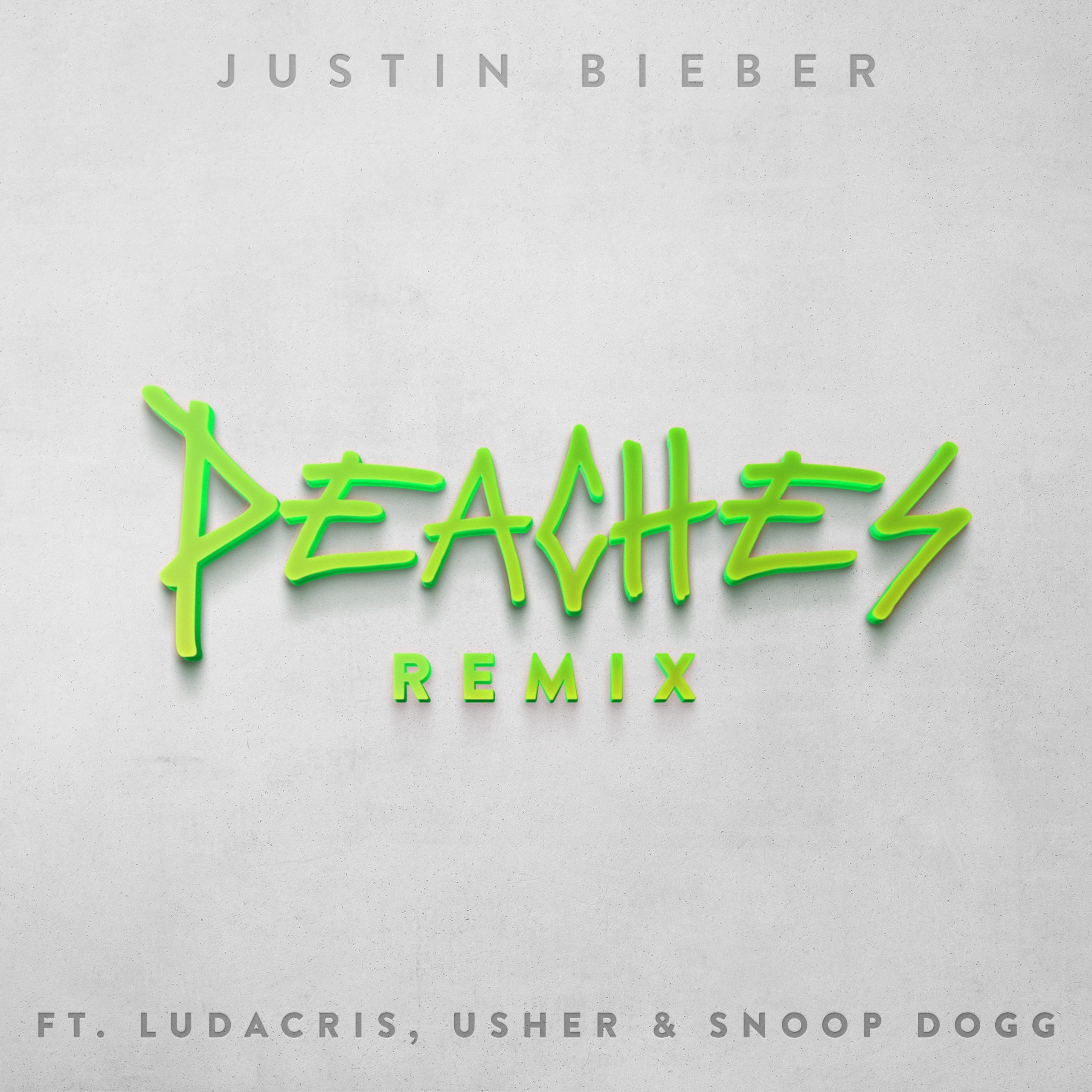 """Snoop Dogg, Usher, and Ludacris Joins Justin Bieber on """"Peaches"""" Remix"""