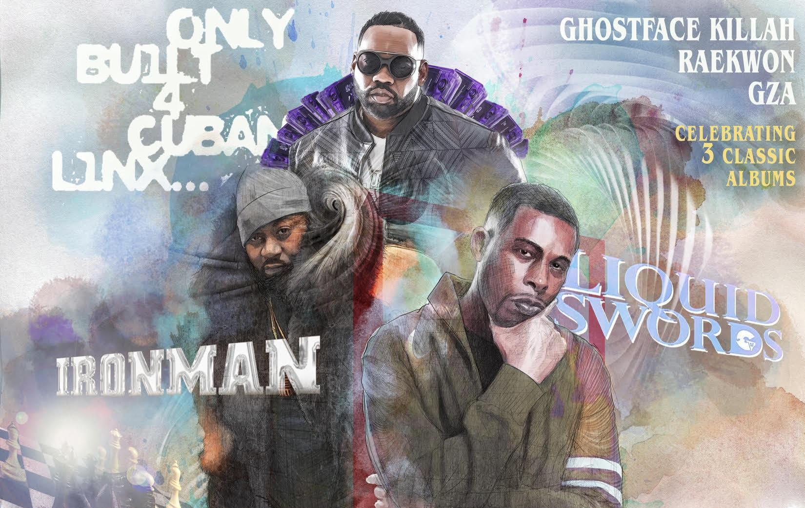 GZA, Raekwon and Ghostface Killah announce 'Tour 3 Chambers'