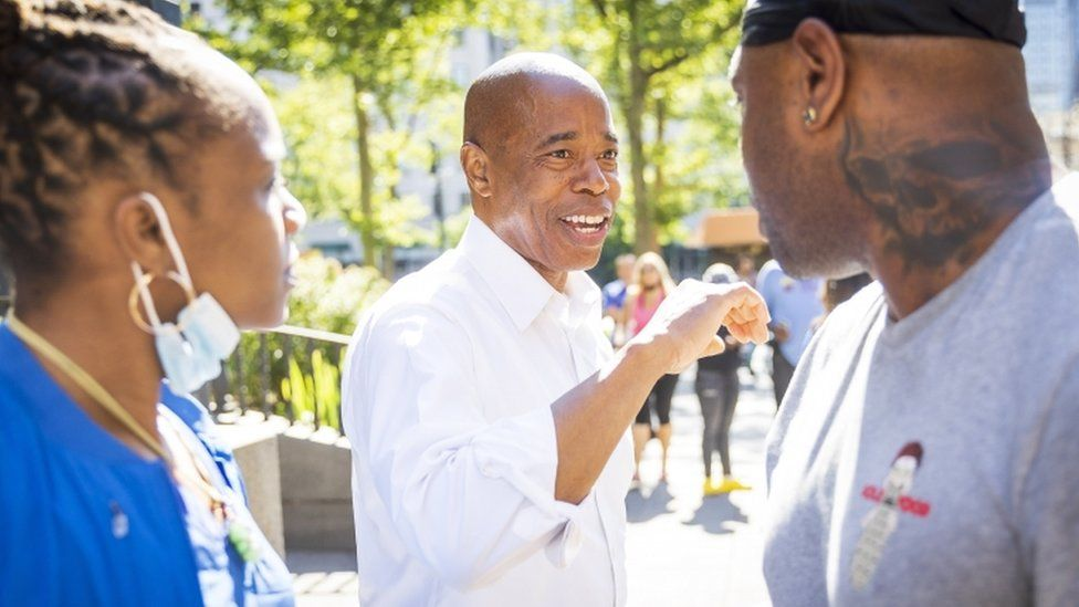 Eric Adams Declared Democratic Candidate for NYC Mayor