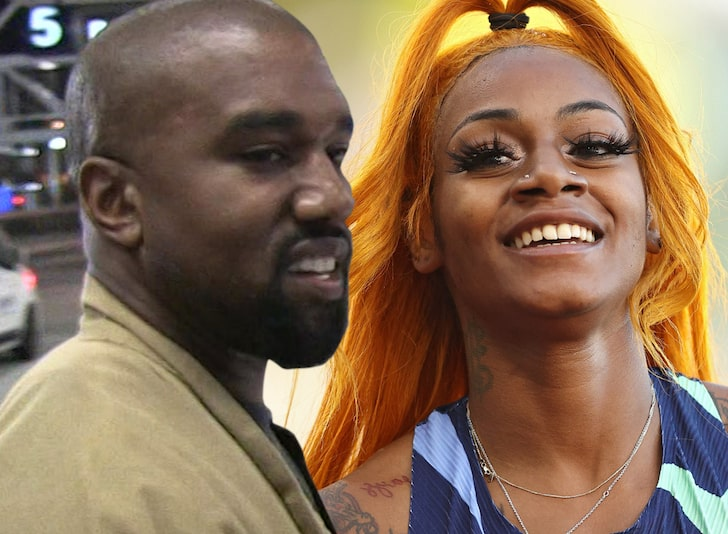 The Source |  Kanye West confirms new album in Beats commercial with Sha'Carri Richardson