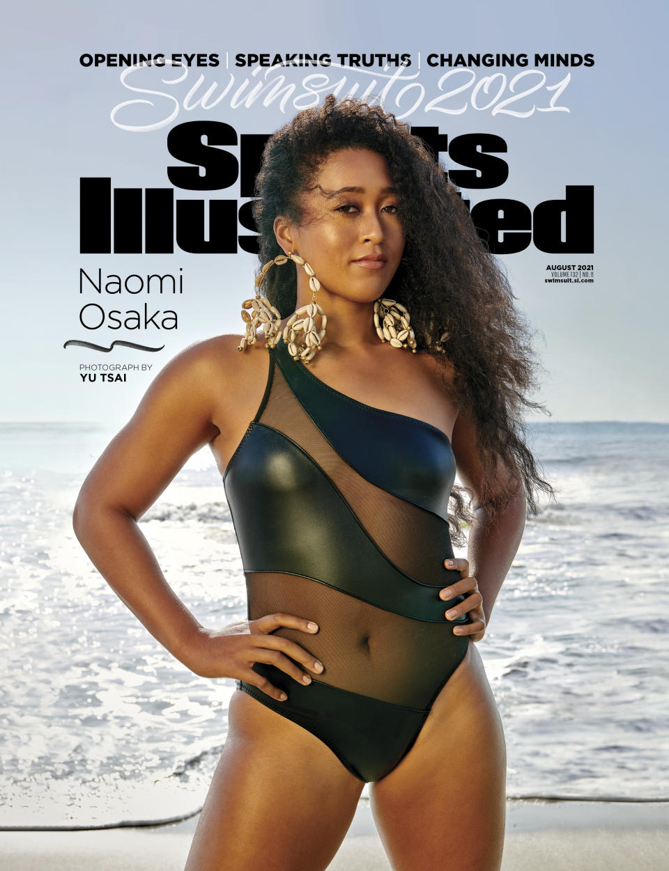 The source |  Naomi Osaka, the first Haitian and Japanese woman to cover Sports Illustrated