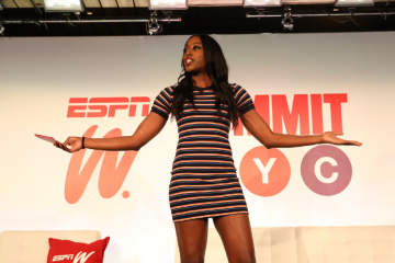 """Chiney Ogwumike Encourages Women Representation in Sports in """"Just #WatchMe"""" Campaign"""