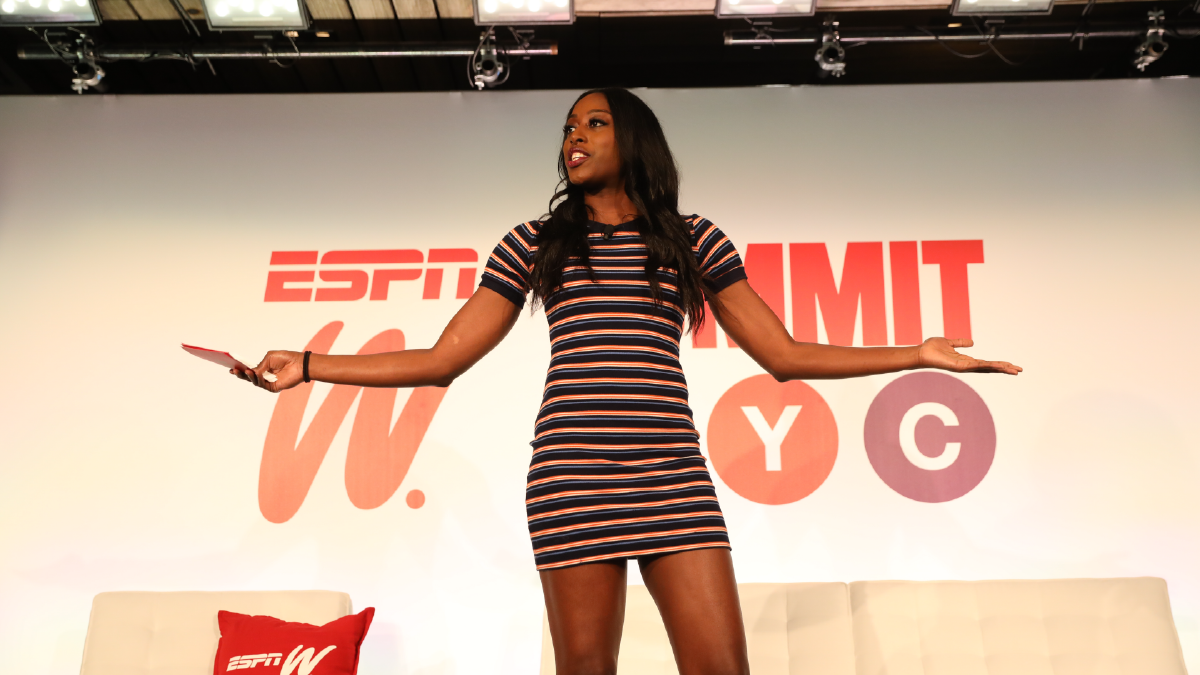 Chiney Ogwumike encourages representation of women in sports