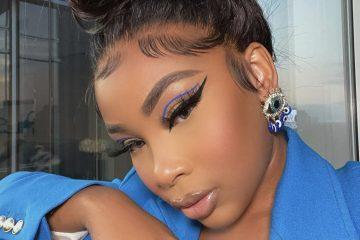 Aaliyah Jay Floating Eyeliner
