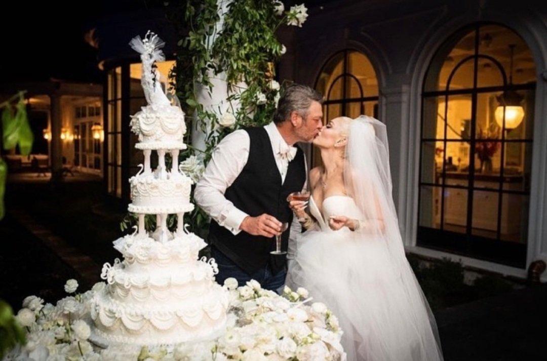Gwen Stefani marries country star Blake Shelton