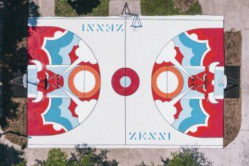 Chicago Bulls and Zenni Optical Refurbish Basketball Court on City's South Side