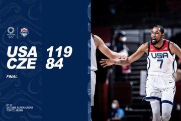 Kevin Durant Leads Team USA Blowout of Czech Republic