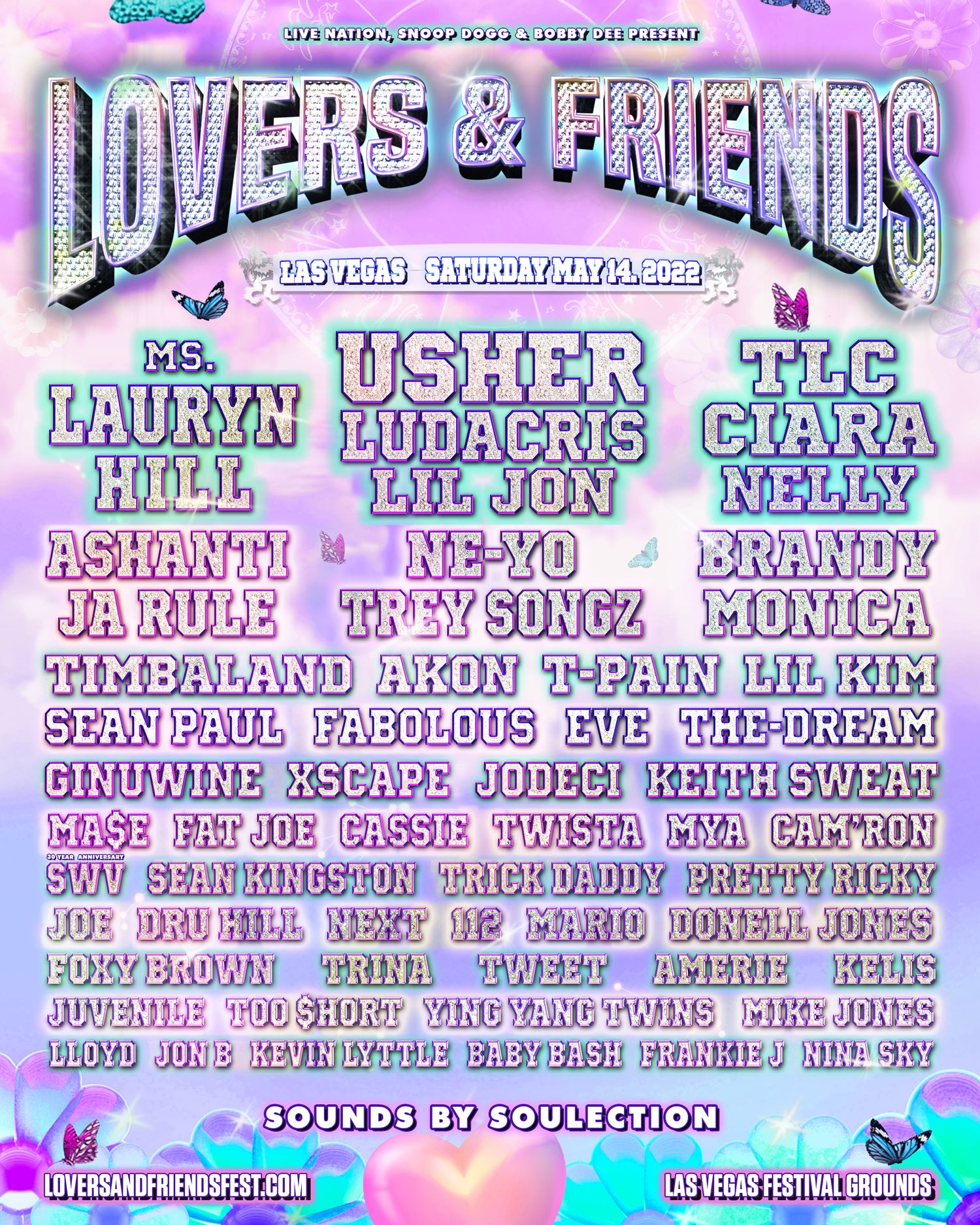 The Lovers And Friends 2022 festival will take place in Las Vegas