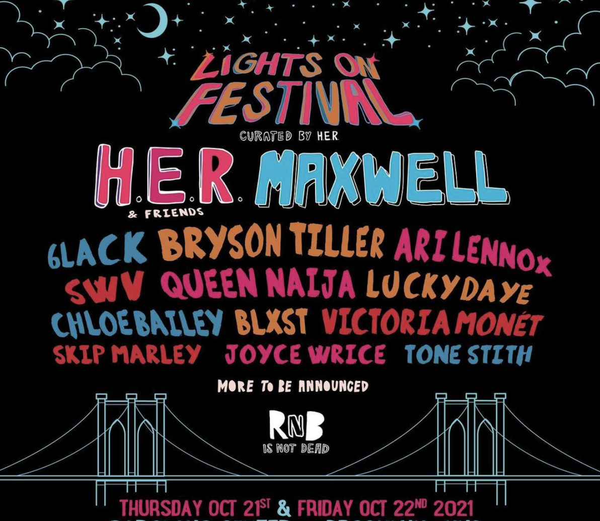 The Source |  HER Announces Lights On Festival Coming to Brooklyn