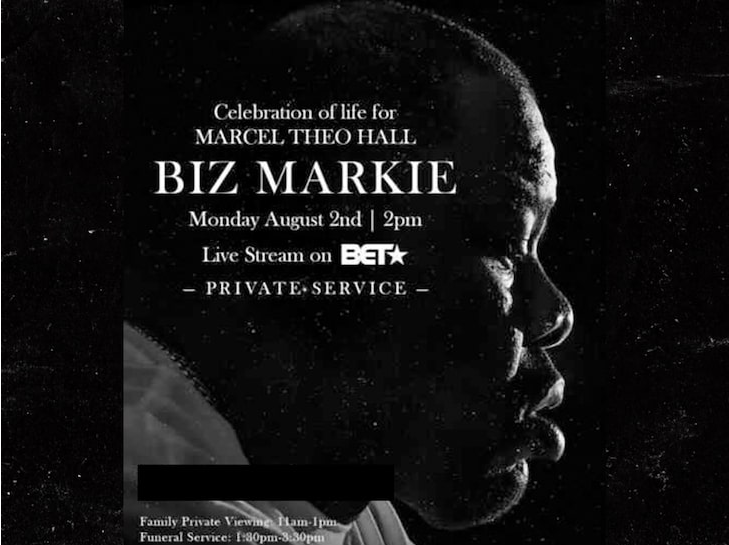 The source |  Celebration of life for Biz Markie scheduled for Monday in New York