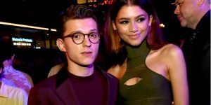 The Internet Is Going Crazy Over Steamy Makeout From Spiderman Co Stars Zendaya and Tom Holland
