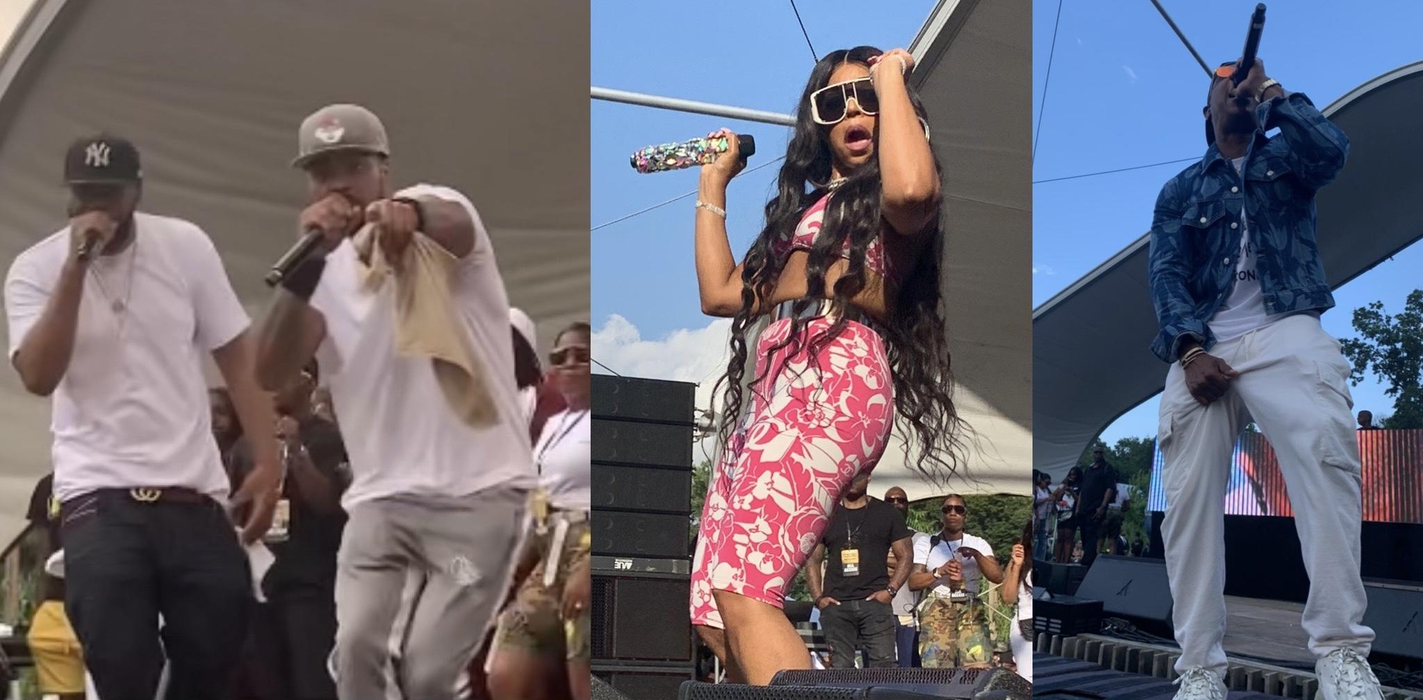 Ashanti, Ja Rule, Wu-Tang Clan, and Redman Make History on Staten Island