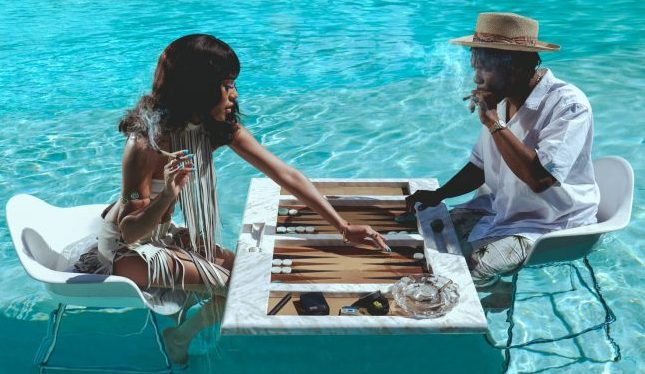 Images Inspired By Slim Aarons From Jay-Z Cannabis Line Now For Sale