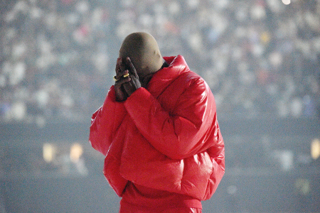"""Kanye West's first single from DONDA is believed to be """"Hurricane"""""""