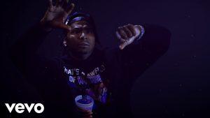"Moneybagg Yo Freefalls into His Purple Cup in ""Wockesha"" Video"