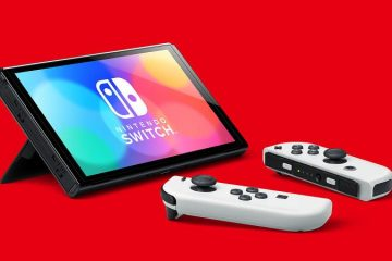 nintendo switch oled model tabletop thumb