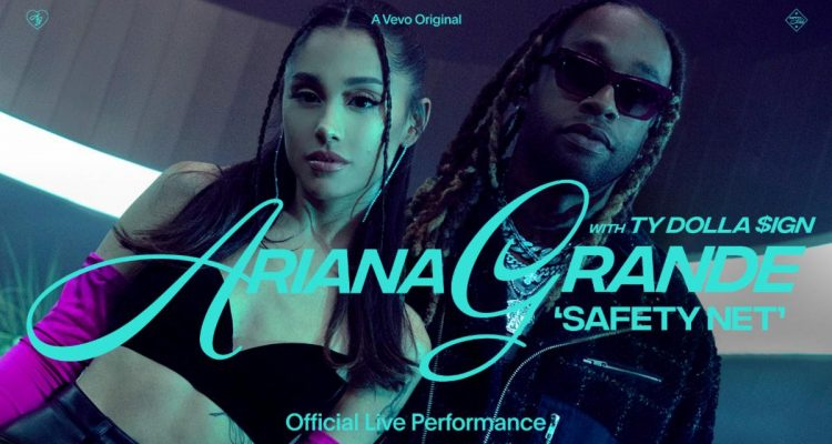 Ty Dolla $ign Joins Ariana Grande for 'safety net' VEVO Live Performance